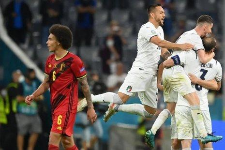 Бельгия - Италия