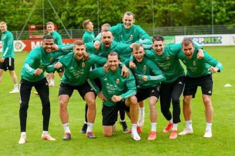 Игроки сборной Венгрии