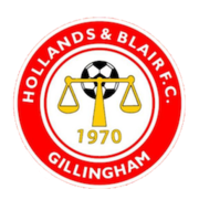 Логотип футбольный клуб Холландс энд Блэйр (Джиллингем)