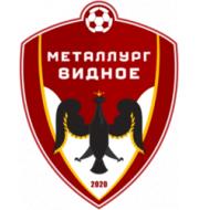Логотип футбольный клуб Металлург Видное