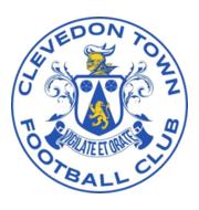 Логотип футбольный клуб Кливдон Таун