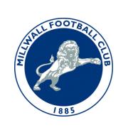 Логотип футбольный клуб Миллуолл (Лондон)