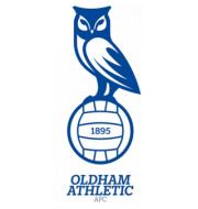 Логотип футбольный клуб Олдхэм