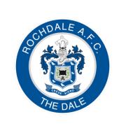 Логотип футбольный клуб Рочдейл