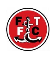 Логотип футбольный клуб Флитвуд