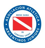 Логотип футбольный клуб Архентинос Хуниорс (Буэнос-Айрес)