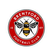 Логотип футбольный клуб Брентфорд (Лондон)