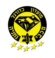 Логотип футбольный клуб Маккаби (Нетанья)