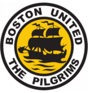 Логотип футбольный клуб Бостон Юнайтед