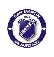 Логотип футбольный клуб Сан Мартин Бурзако