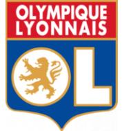 Логотип футбольный клуб Лион (до 19)