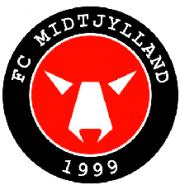 Логотип футбольный клуб Митдтьюланд (до 19)