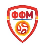 Логотип футбольный клуб Северная Македония