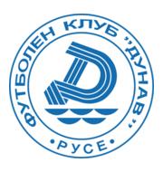 Логотип футбольный клуб Дунав 2010 (Русе)
