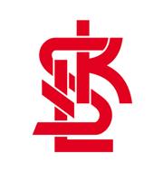 Логотип футбольный клуб ЛКС (Лодзь)