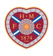 Логотип футбольный клуб Хартс (Эдинбург)