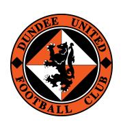 Логотип футбольный клуб Данди Юнайтед