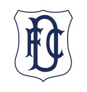 Логотип футбольный клуб Данди