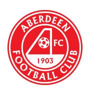 Логотип футбольный клуб Абердин
