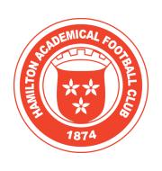 Логотип футбольный клуб Гамильтон Академикал (до 19)