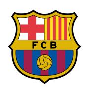Логотип футбольный клуб Барселона (до 19)