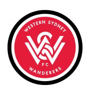 Логотип футбольный клуб Вестерн Сидней Уондерерс