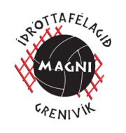Логотип футбольный клуб Магни