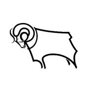 Логотип футбольный клуб Дерби Каунти