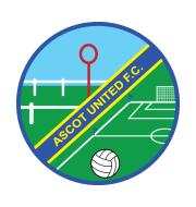 Логотип футбольный клуб Эскот Юнайтед