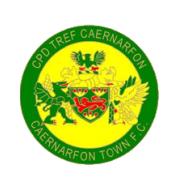 Логотип футбольный клуб Кайрнарфон Таун