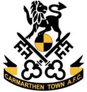 Логотип футбольный клуб Кармартен Таун