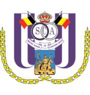 Логотип футбольный клуб Андерлехт (до 19)