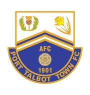 Логотип футбольный клуб Порт-Толбот Таун