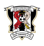 Логотип футбольный клуб Нэви Сефн-Друидс (Сефн Моур)