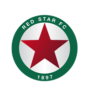 Логотип футбольный клуб Ред Стар (Сен-Уэн)