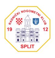 Логотип футбольный клуб Сплит