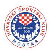 Логотип футбольный клуб Зриньски (Мостар)