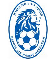 Логотип футбольный клуб Хапоэль (Рамат-ха-Шарон)