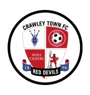 Логотип футбольный клуб Кроули Таун