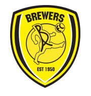 Логотип футбольный клуб Бёртон Альбион (Бёртон-апон-Трент)