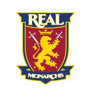 Логотип футбольный клуб Реал Монархс (Юта)