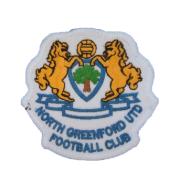 Логотип футбольный клуб Норт Гринфорд Юнайтед (Лондон)