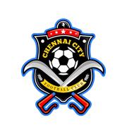 Логотип футбольный клуб Ченнай Сити