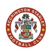 Логотип футбольный клуб Аккрингтон Стэнли