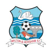 Логотип футбольный клуб Уолтон & Хершман  (Уолтон-на-Темзе)