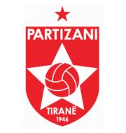 Логотип футбольный клуб Партизани (Тирана)