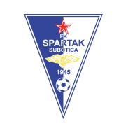 Логотип футбольный клуб Спартак (Суботица)