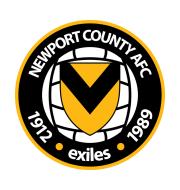 Логотип футбольный клуб Ньюпорт Каунти