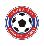Логотип футбольный клуб Паневежис
