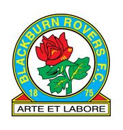 Логотип футбольный клуб Блэкберн